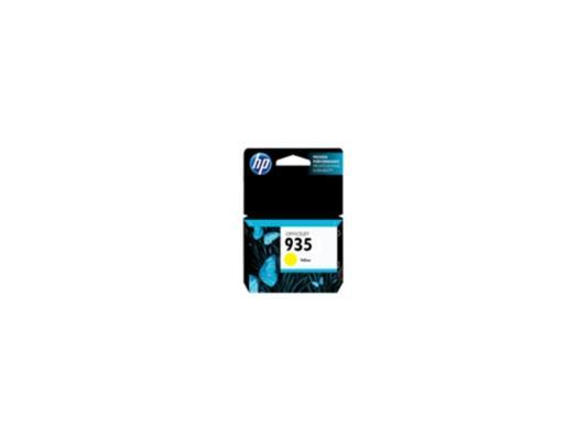 Картридж HP C2P22AE для Officejet Pro 6230 6830 желтый 400стр №935 картридж hp 935 для officejet pro 6830 400стр голубой c2p20ae
