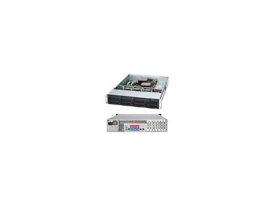 Серверный корпус 2U Supermicro CSE-825TQ-600LPB 600 Вт чёрный
