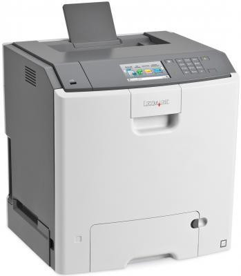 Принтер Lexmark C748de цветной A4 33ppm 1200x1200dpi Duplex Ethernet USB белый 41H0070 стоимость