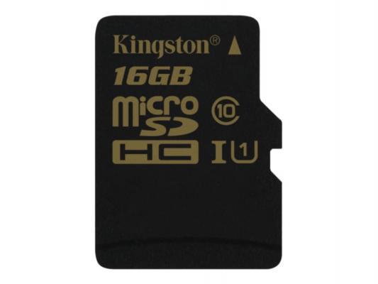 Карта памяти Micro SDHC 16GB Class 10 Kingston SDCA10/16GBSP
