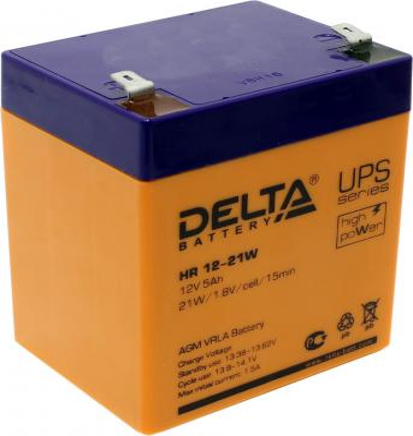 Батарея Delta HR 12-21W 5Ач 12B
