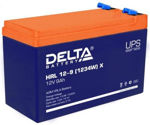 Батарея Delta HRL 12-9 (1234W) 9Ач 12B батарея delta dt 1218 18ач 12b