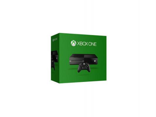 Игровая приставка Microsoft Xbox One 500Gb черный 5C5-00015