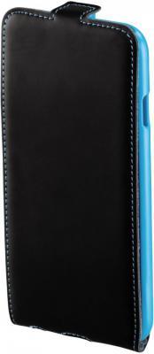 Чехол (флип-кейс) HAMA Guard Case для iPhone 6 черный-голубой 00135024