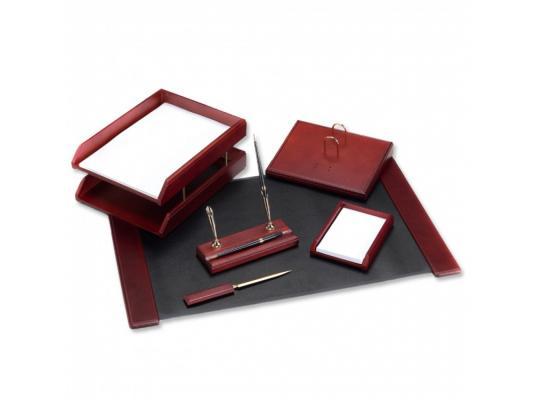 Настольный набор Good Sunrise 6 предметов красное дерево темный оттенок M6C-7A набор настольный bestar chicago 6 предметов дуб