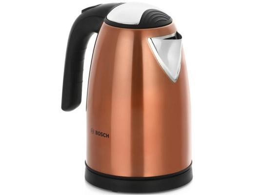 Чайник Bosch TWK 7809 2200 Вт медный 1.7 л металл подставка под горячее pila натуральное дерево никель 1125860