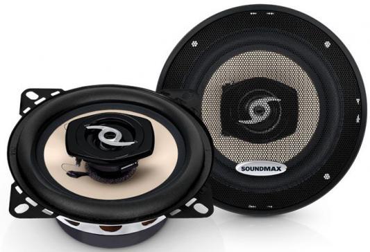 Автоакустика Soundmax SM-CSA402 коаксиальная 2-полосная 10см 50Вт-100Вт автоакустика soundmax sm cf502