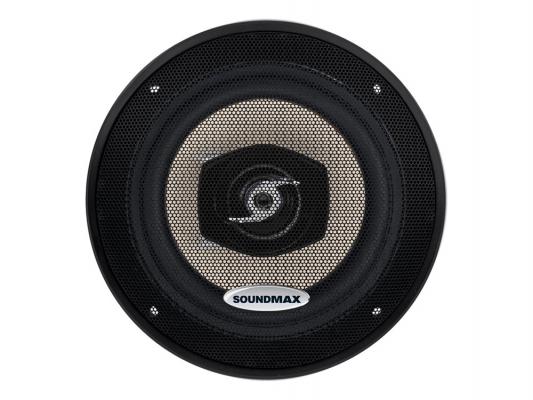 Автоакустика Soundmax SM-CSA502 коаксиальная 2-полосная 13см 70Вт-140Вт автоакустика soundmax sm csd503 коаксиальная 3 полосная 13см 60вт 120вт