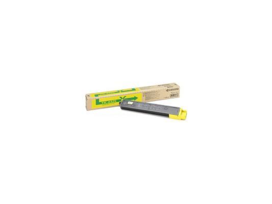 Картридж Kyocera TK-8325Y для TASKalfa 2551ci желтый 12000стр картридж kyocera tk 8325k black для taskalfa 2551ci 18000стр