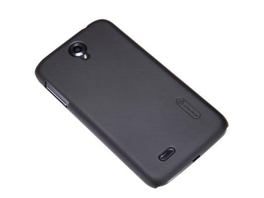 Накладка Nillkin Super Frosted Shield для Lenovo A850 черный T-N-LA850-002 стоимость