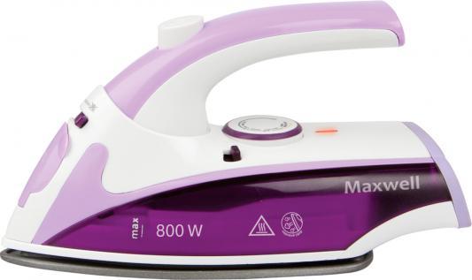 Утюг Maxwell MW-3057-VT 800Вт фиолетовый утюг maxwell mw 3057 800вт антиприг дорожный