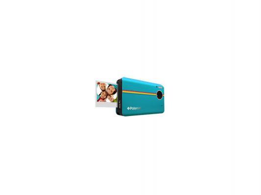 "Моментальная фотокамера Polaroid Z2300 голубая <10Mp, LCD 3"" карта памяти SD >"