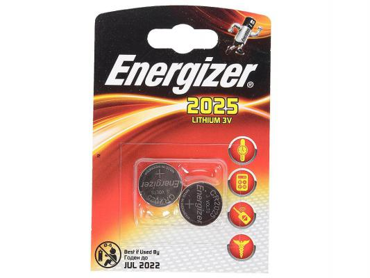 Батарейки Energizer Lithium CR2025 2 шт