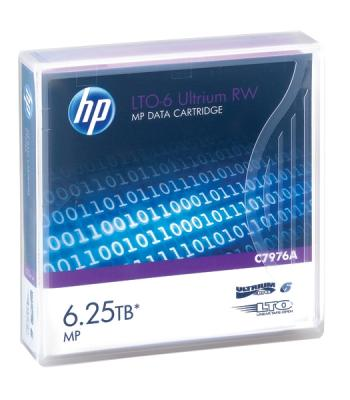 лучшая цена Ленточный носитель HP LTO-6 Ultrium 6.25TB RW Data Tape (C7976A)