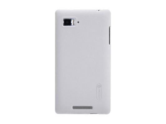 Накладка Nillkin Super Frosted Shield для Lenovo K910 VIBE Z белый чехол для lenovo ideaphone k910 vibe z ibox premium black