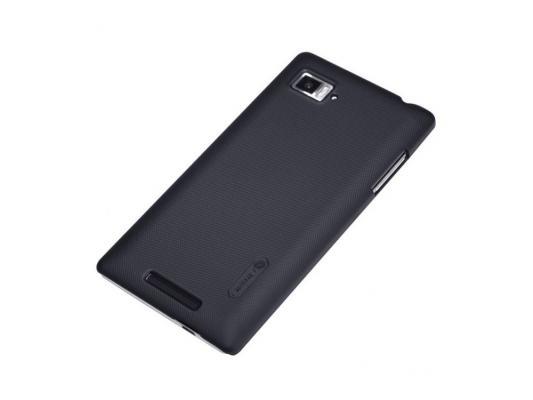 Накладка Nillkin Super Frosted Shield для Lenovo K910 VIBE Z черный чехол для смартфона lenovo k910 vibe z nillkin fresh series leather case белый