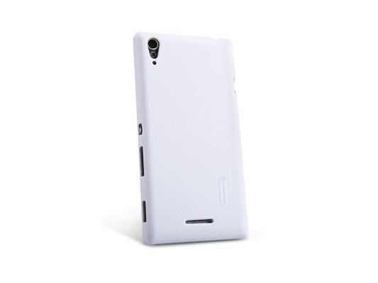 Накладка Nillkin Super Frosted Shield для Sony Xperia T3 M50 белый