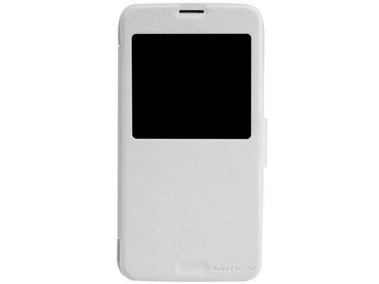 Чехол Nillkin Fresh Series Leather Case для Samsung Galaxy S5 G900 белый T-N-SG900-001 стоимость