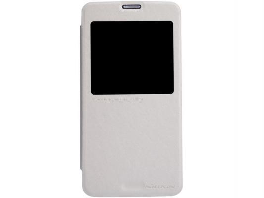 Чехол Nillkin Sparkle Leather Case для Samsung Galaxy S5 G900 белый