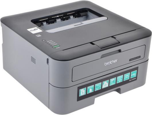 Принтер Brother HL-L2300DR ч/б A4 26ppm 2400x600dpi дуплекс USB