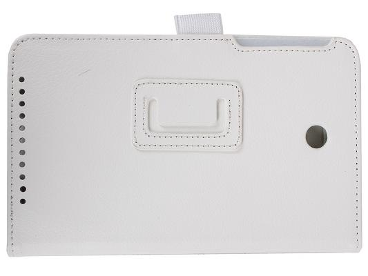 Чехол IT BAGGAGE для планшета Asus MeMO Pad 7 ME176 искуственная кожа белый ITASME1762-0 чехол для планшета it baggage для memo pad 8 me581 черный itasme581 1 itasme581 1