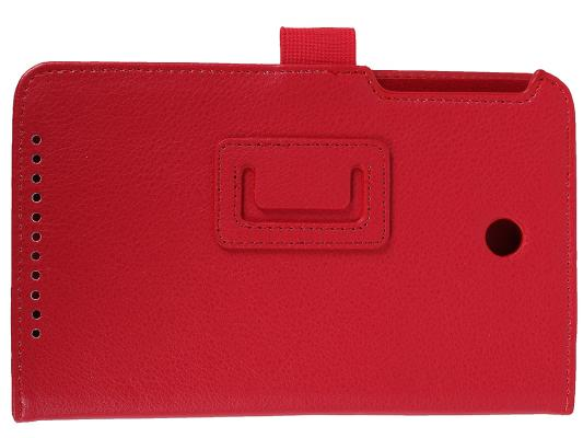 Чехол IT BAGGAGE для планшета Asus MeMO Pad 7 ME176 искуственная кожа красный ITASME1762-3 чехол для планшета it baggage для memo pad 8 me581 черный itasme581 1 itasme581 1