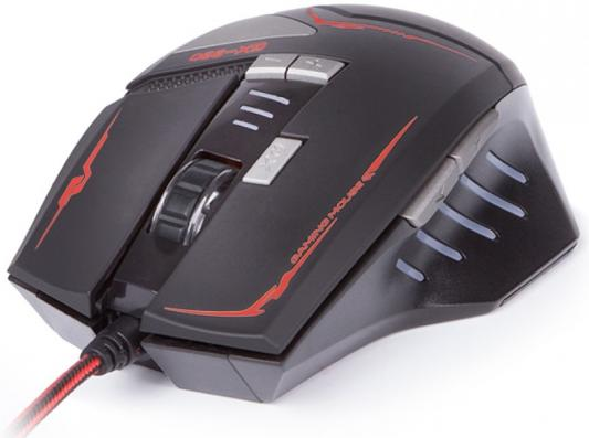 Мышь проводная Sven GX-990 Gaming чёрный USB su gx 5s r