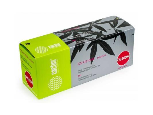 Картридж Cactus CS-O3100M для OKI C3100/C3200/C5100/C5150/C5200/C5300/C5400 пурпурный 5000стр