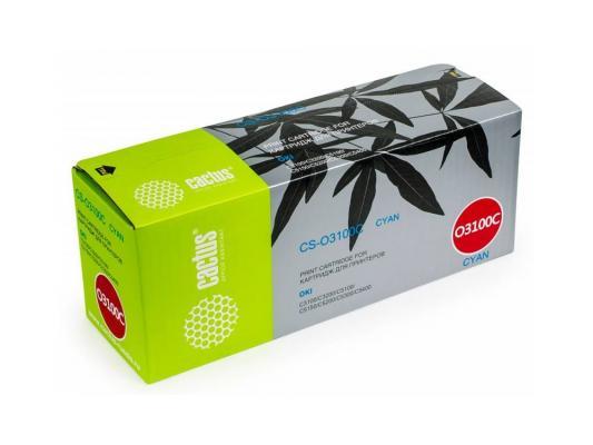 Картридж Cactus CS-O3100C для OKI C3100/C3200/C5100/C5150/C5200/C5300/C5400 голубой 5000стр 2sa1943 2sc5200 a1943 c5200