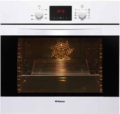 Электрический шкаф Hansa BOEW68402 белый духовой шкаф hansa boew68402