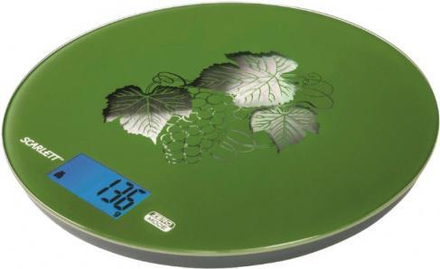 Весы кухонные Scarlett SC-1215 зелёный