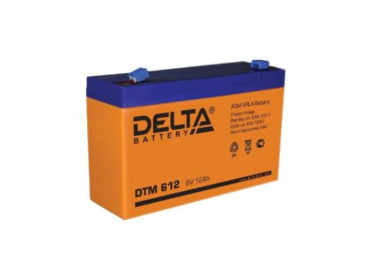 Батарея Delta DTM 612 12Ач 6Bт new original dvp48eh00r3 delta plc eh3 series 100 240vac 24di 16do relay output
