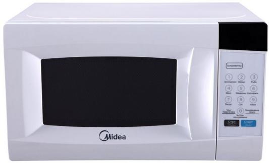 лучшая цена СВЧ Midea EM720CKE 700 Вт белый
