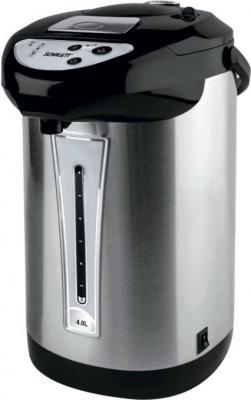 Термопот Scarlett SC-ET10D02 750 Вт серебристый чёрный 4 л металл термопот orion тп 05 5л 800 вт серебристый чёрный 5 л металл пластик