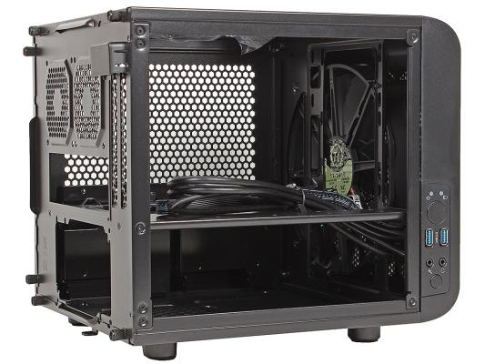 Корпус miniITX Thermaltake Core V1 Без БП чёрный CA-1B8-00S1WN-00