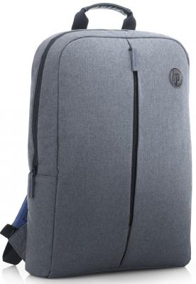 Рюкзак для ноутбука 15.6 HP K0B39AA синтетика серый hp 980 d8j10a