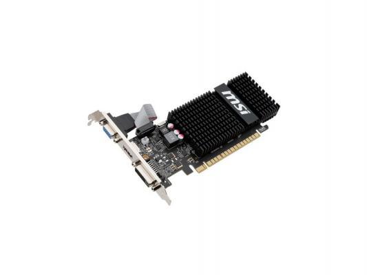 Видеокарта 2048Mb MSI GeForce GT720 PCI-E GDDR3 64bit DVI HDMI HDCP N720-2GD3HLP Retail