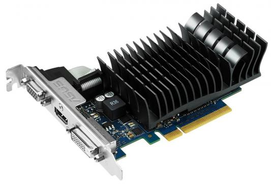 Видеокарта 2048Mb ASUS GeForce GT720 PCI-E 64bit GDDR3 DVI HDMI HDCP GT720-SL-2GD3-BRK Retail