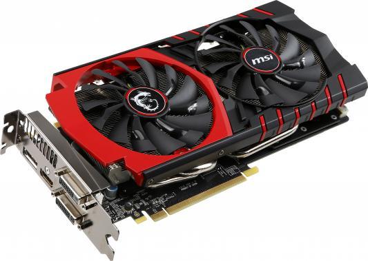 Видеокарта 4096Mb MSI GeForce GTX970 GAMING 4G PCI-E 256bit GDDR5 DVI HDMI HDCP GTX 970 GAMING 4G Retail