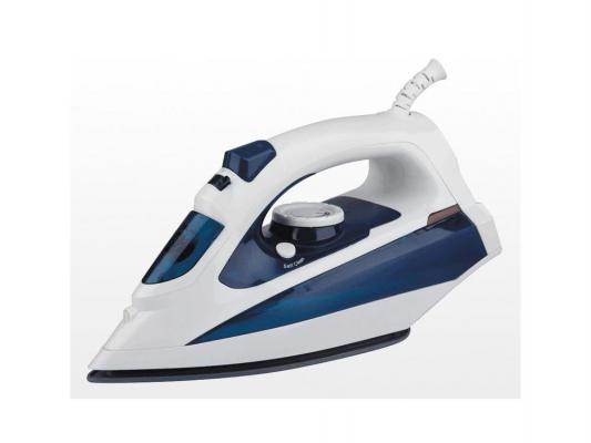 Утюг Maxwell MW-3056-B 2200Вт синий фен maxwell 2026 mw вк 2200вт чёрный