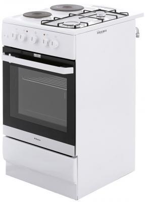 Комбинированная плита Hansa FCMW53041 белый