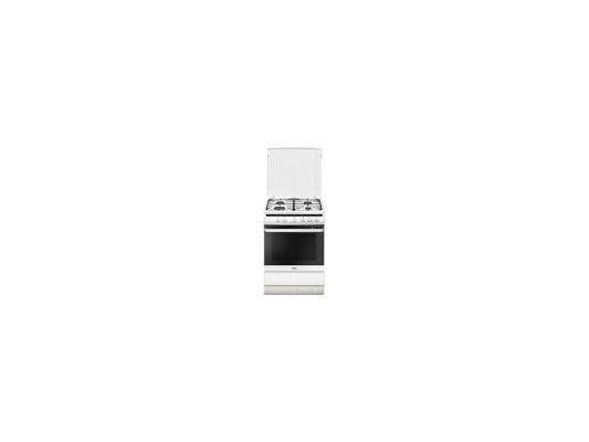 Комбинированная плита Hansa FCMW68041 белый от 123.ru