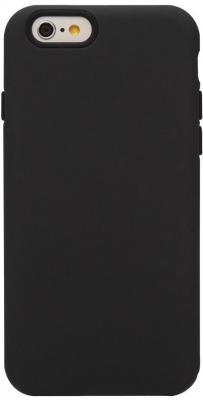 Чехол (клип-кейс) Ozaki O!coat Macoron для iPhone 6 чёрный OC563BK  O!coat Macoron