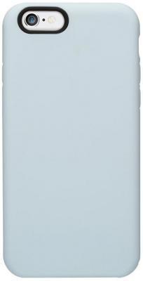 Чехол (клип-кейс) Ozaki O!coat Macoron для iPhone 6 голубой OC563SY