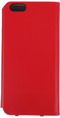 Чехол-книжка Ozaki O!coat 0.3 Aim+ для iPhone 6 красный OC564RD