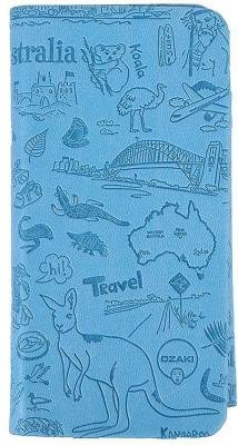 Чехол-книжка Ozaki O!coat Travel для iPhone 6 голубой OC569SY
