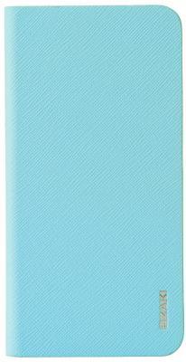 Чехол-книжка Ozaki O!coat 0.4+Folio для iPhone 6 Plus голубой