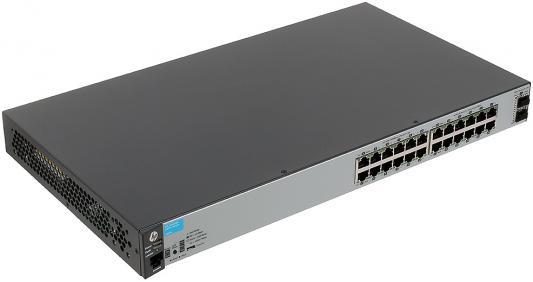 Коммутатор HP 2530 управляемый 24 порта 10/100/1000BASE-T 2хSFP+ J9856A
