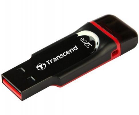 Флешка USB 32Gb Transcend JetFlash 340 TS32GJF340 черный флешка transcend jetflash jf300 32gb