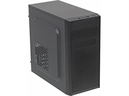 Корпус microATX Accord ACC A-08B Без БП чёрный блок питания accord atx 1000w gold acc 1000w 80g 80 gold 24 8 4 4pin apfc 140mm fan 7xsata rtl